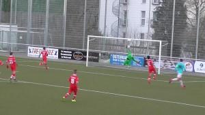 Pascal Moll Treffer zum 5 zu 0